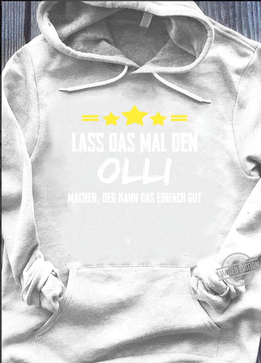 Lass Das Mal Den Olli Machen Name Namensgeschenk Vorname ...